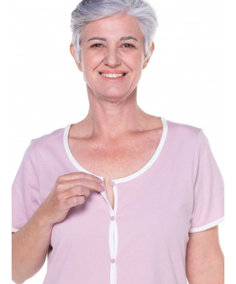 Homewear camisola clássica manga curta