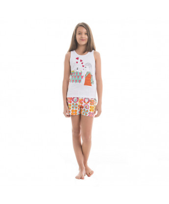 Pijama regata e short