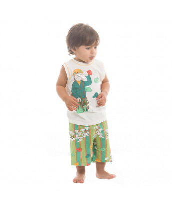 Pijama regata machão e short