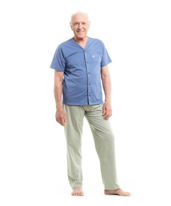 Homewear clássico manga curta e calça