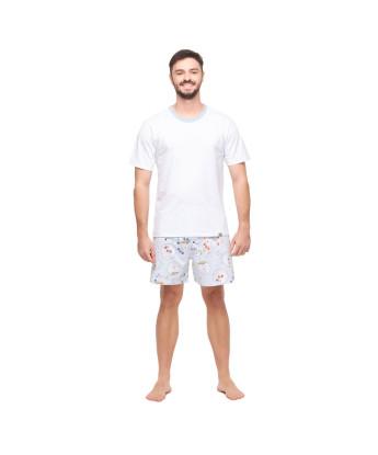 Pijama manga curta e short