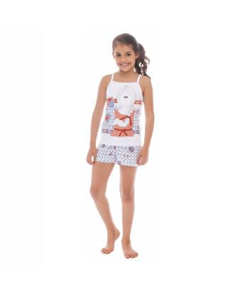 Pijama alça e short