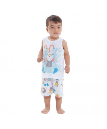Pijama regata e short
